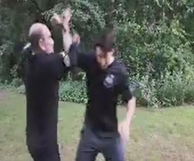 Overhead Stab Defense
