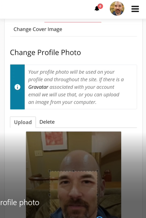 Take/Add/Change Your Profile Photo From Your Phone